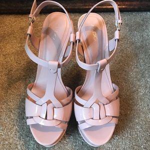 a0dc5306f1c Aldo Shoes - ALDO Chelly Platform T Strap Heels NEW